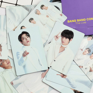 NEW South Korean Groups K-POP Bangtan Boys Poster New Album BANG BANG CON The Live LOMO Card PhotoCards JUNG KOOK JIMIN SUGA