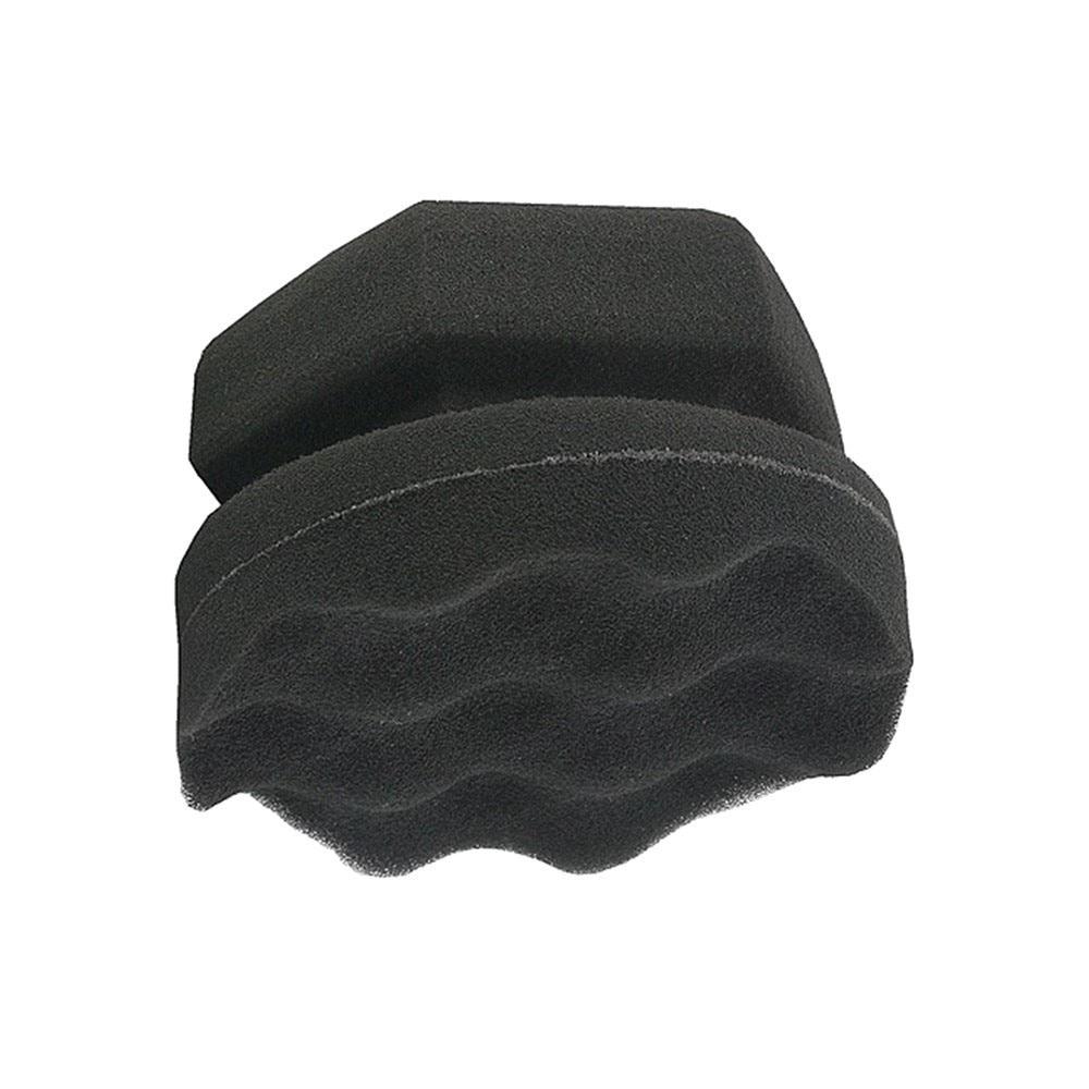 High Density Car Tyre Brush Dressing Applicator Hex Grip Soft Waxing Sponge Wax Sponge Car Sponges For Waxing