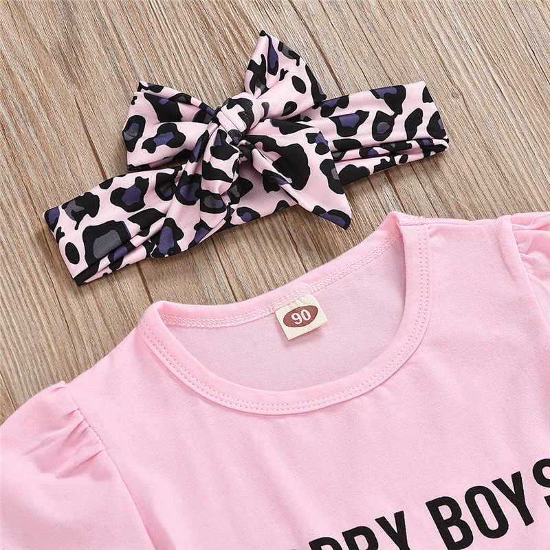 Quần Áo Bé Gái Dài Tay Liền Quần + Họa Tiết Suspender Váy Trang Phục Mùa Xuân Cho Bé Bộ Roupa Infantil Menina