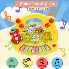 Animal Farm Musical Piano Baby Enlightenment Early Learning Toys Puzzle Baby Electronic Musical Instrument For 0-3 years old цена и фото