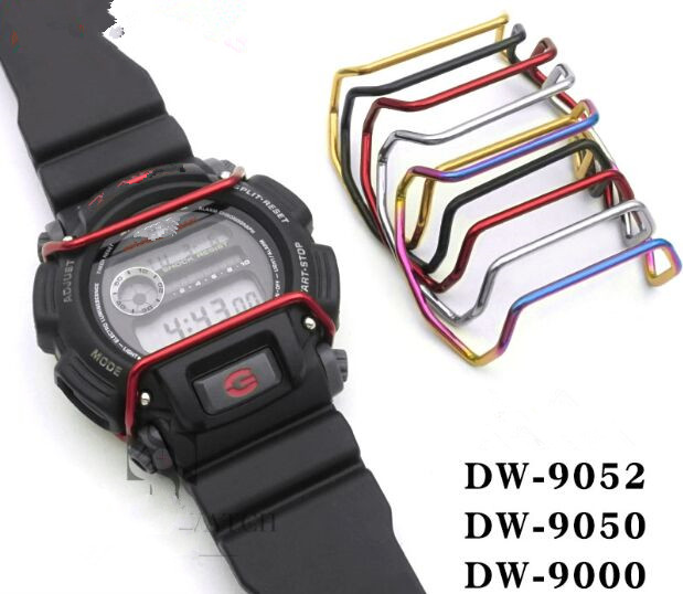 DW-9052 DW-9050 DW-9000 Stainless Steel Watch Bumper Screen Protector Case Protector Wire Guards
