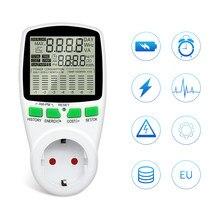 Digital Energy Meter Kwh AC Power Meter Wattmeter Leistung Strom EU Französisch US UK AU Mess Outlet Power Analyzer