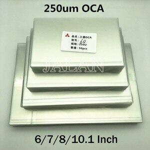 Image 1 - 250um OCA דבק עבור Ip 6/7/7.9/8/9.7/10.1/12.9/15.6 אינץ מגע מסך זכוכית Oca למינציה Lcd תיקון עבור מיצובישי Oca דבק
