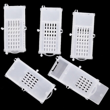 Push-Pull Bee Cage Beehive Plastic King Queen Rearing Prisoner Escape Box Beekeeping Tools Equipment 5