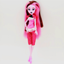 Cheapest NO BOX 4 Style Dolls New high dolls fun Moveable Joint Body Fashion Girls Toys Best Gift
