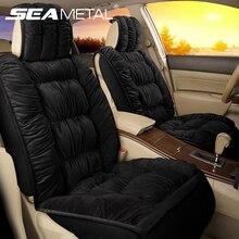 Protector Carpet-Mats Chair-Accessories Car-Seat-Cover Cushion Interior Plush Universal