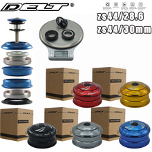 """1set 1 1/8"""" Bicycle Headset for MTB Mountain Road Fixed gear Bike Threadless Spacers Cap For 28.6X44X30mm 2 Bearings accessories"""