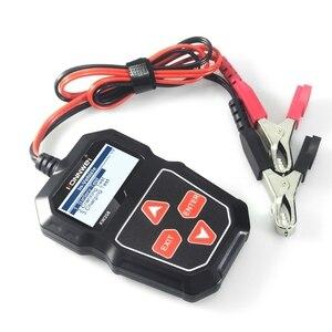 Image 5 - 2021 nowy KW208 Tester akumulatora samochodowego ładowarka analizator 12V 100 2000CCA instalacja ładująca Test