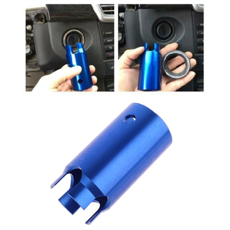 Купить с кэшбэком lgnition Lock Switch Remover Sleeve Socket Removal Special Tools for W140 W202 W210 and W220 W129