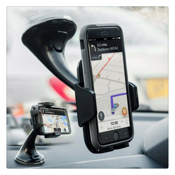 Car Sucker Mount Bracket GPS auto Phone Holder Stand for Ford Freestyle Fairlane Equator Expedition EcoSport Kuga F-Series image