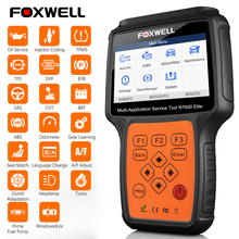 Foxwell NT650 Elite OBD2 Automotive Scanner Abs Srs Dpf Olie Reset Code Reader Professionele Obd Auto Diagnostic Tool OBD2 Scanner