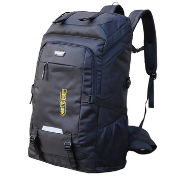 цена на Large capacity backpack men and women outdoor travel backpack 80 liter mountaineering bag sports travel luggage computer bag