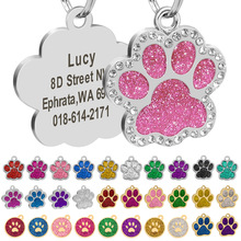 Pendant Collar-Accessories Id-Tag Puppy Dogs Free-Engraved Custom Personalized Cat Pet-Dog