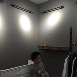 Современный минималистичный сплошной равномерный цвет цемент серый темно серый нетканые обои Модный корейский стиль Женская одежда