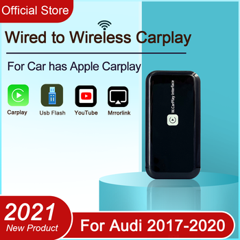 3.0 WIFI Version Wireless Carplay Dongle For Audi 2016-2020 A3 A4 A5 A6 A7 Q2 Q3 Mirror link Car Multimedia Player Android 9.0 image