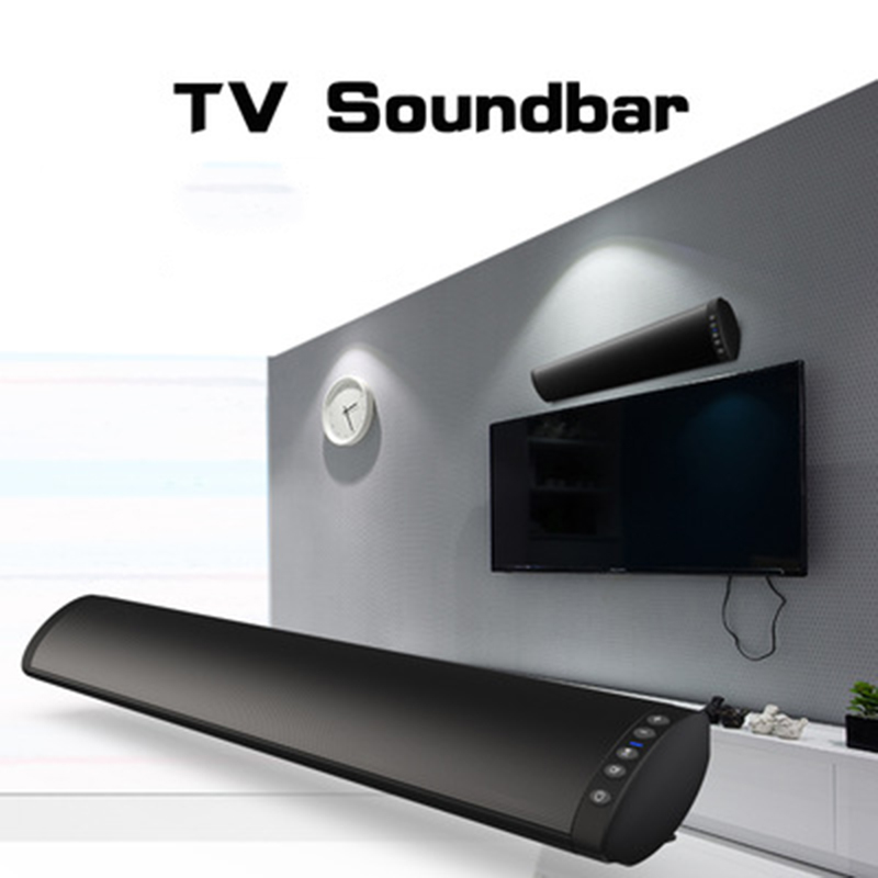 Soundbar Bluetooth Loud Speaker Home Theater Sound Bar For TV Wired And Wireless Dual Speakers Support FM Radio TF Card