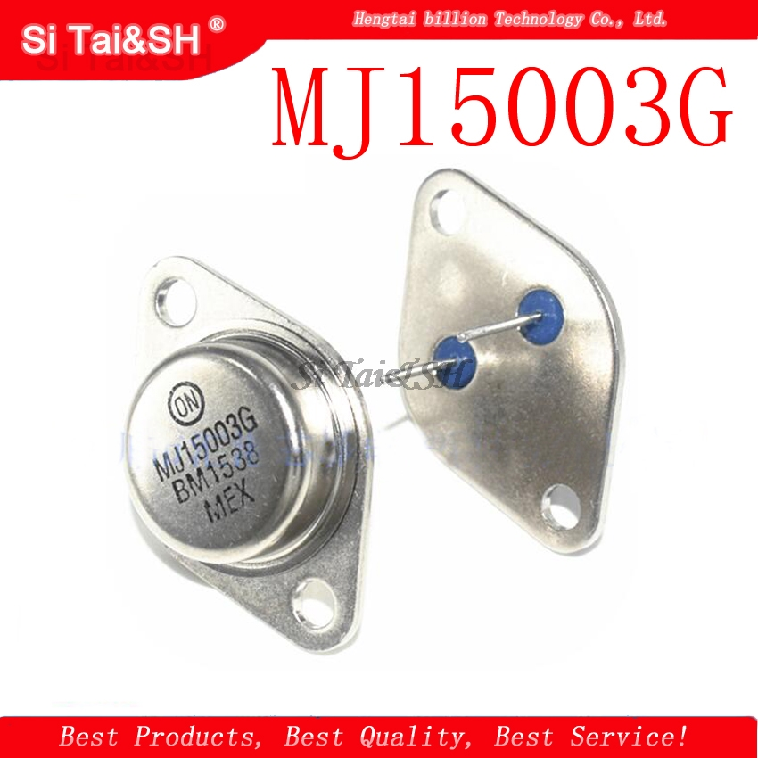 1pcs/lot MJ15003G MJ15003 TO-3