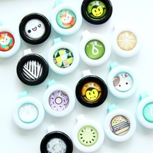 1PC Mosquito Repellent Button Safe for Infants Baby Kids Buckle Indoor Outdoor Anti-mosquito Pest Control Buttons