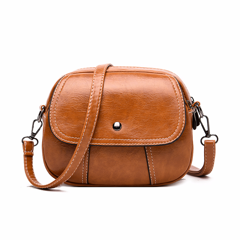 2019 Mini Crossbody Bags For Women Leather Messenger Bags Sac A Main Pu Leather Shoulder Bag Female Vintage Handbags Bolsas New