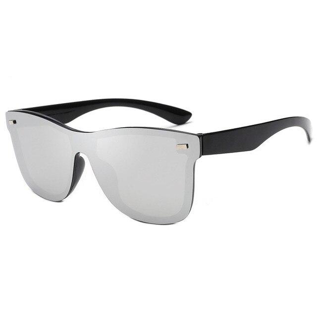 RBRARE-gafas de sol Siamesas para hombre y mujer, lentes de sol de lujo coloridas, Retro, con espejo rosa, 2021 3