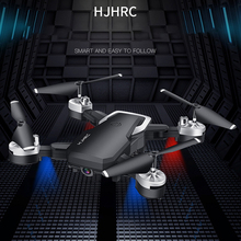 HJ28 wifi FPV длинный Аккумулятор RC Дрон широкоугольный селфи Квадрокоптер Высокое разрешение вертолет Высота игрушки аэрофотосъемка Складная
