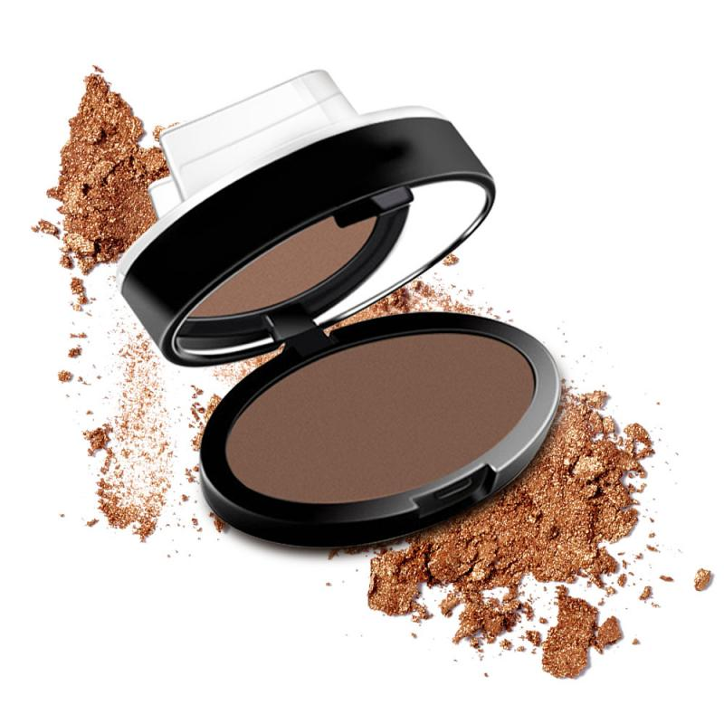 Professional Stamp Eyebrow Powder Seal Cake Makeup 2 Color Waterproof Eyebrow Powder Eye Brow Palette Eyebrow Enhancer TSLM1