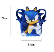 Children Sonic Backpack Kids Girls Boys Anime Games Cosplay Accessories Students Schoolbag Outdoor Travel Kindergarten Bags(China)