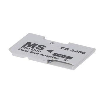 Adaptador de tarjeta de memoria, tarjetas SDHC, adaptador Micro SD/TF a MS PRO Duo para tarjeta PSP H4GA