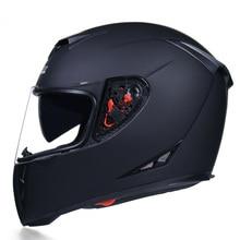 Motorrad Helm DOT Genehmigt Modulare Sicherheits Flip Männer und Frauen Full Face Helm Dual Objektiv Helm Innen Visier