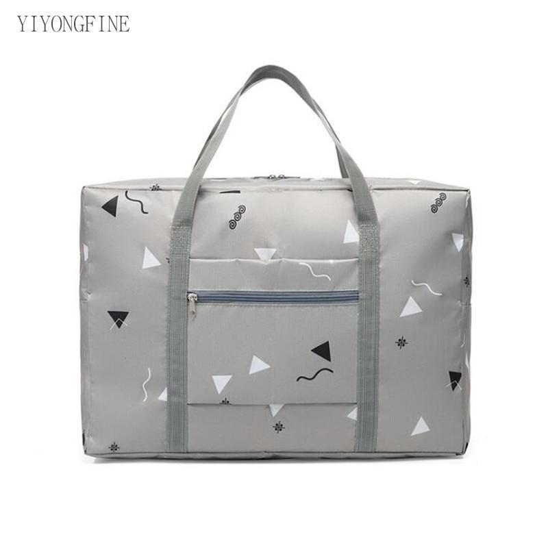 Large Capacity Weekend Bag For Travel Clothing Toiletries Luggage Bag Organizer Men And Women Printed Travel Bags Packaging Bag