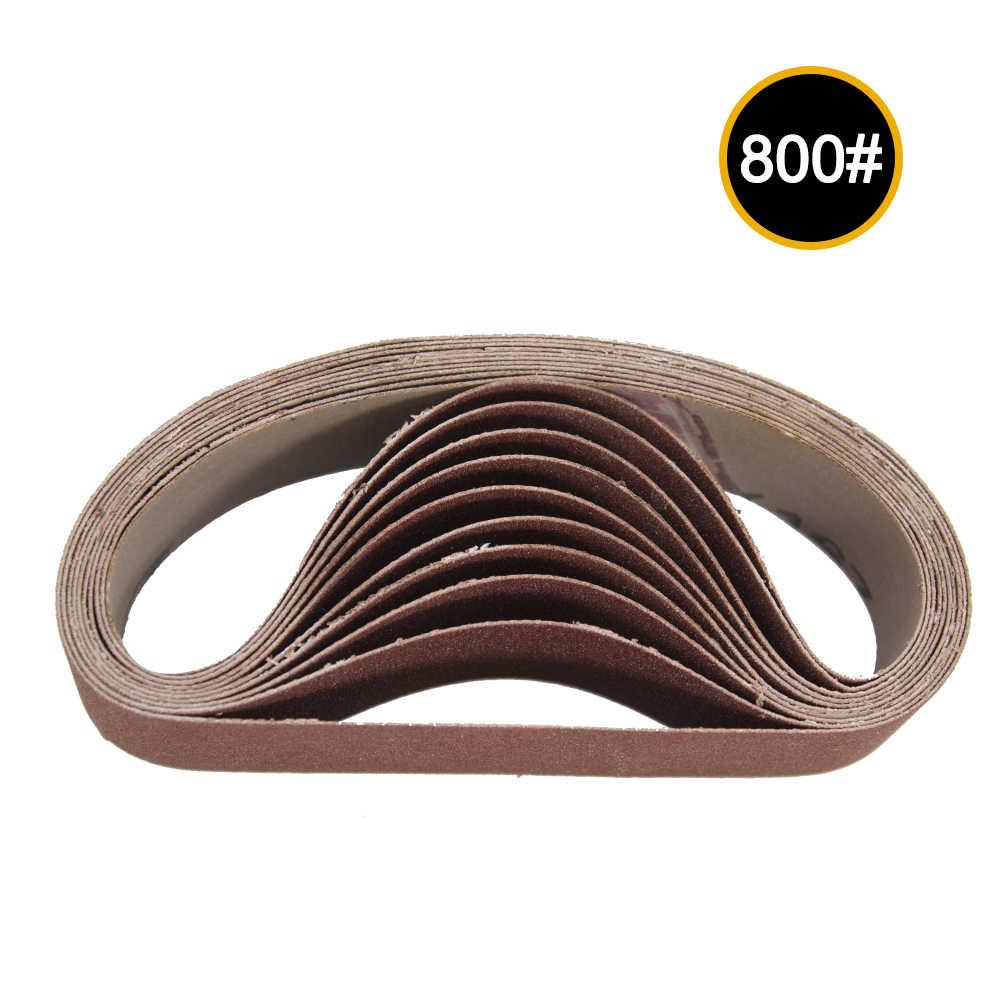10PCS 330X30mm Abrasive Sanding Belts 800 Grit Sanding Grinding Polishing R7K8