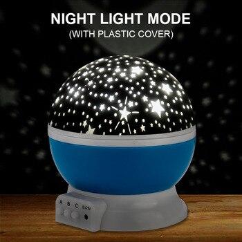 Rotating Galaxy Star Light Projector For Kids Bedroom