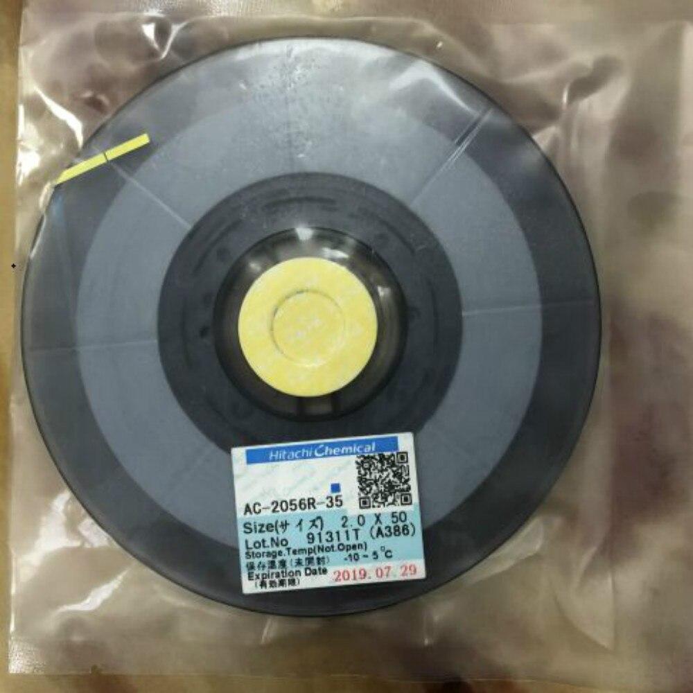 Yeni tarih ACF AC-2056R-35 AC2056R-35 PCB tamir bandı 1.5/2.0MM * 10 M/25 M/50 M
