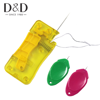3Pcs Automatic Needle Threader Plastic Wire Stitch Insert Craft Tool Hand Sewing Machine Threader DIY Sewing Accessories new needle threader insertion applicator handle thread machine sewing tool 7 5cm dropshipping