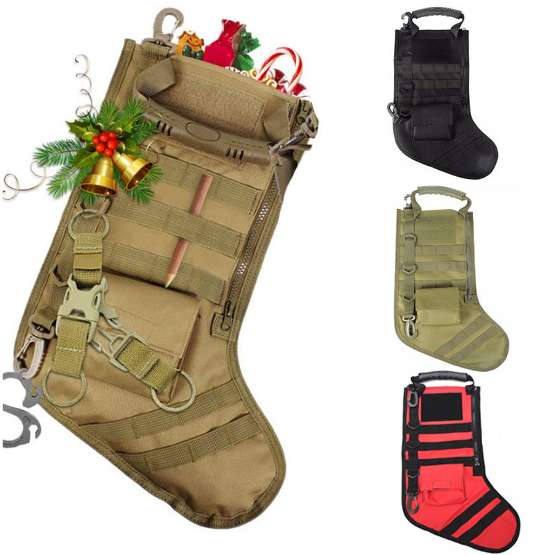 Christmas Stocking Socks Tactical Bag Dump Drop Pouch Utility Storage Bag Military Combat Hunting Pack Magazine Pouches Stockings & Gift Holders    - AliExpress
