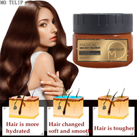 MO TULIP 60ML Magical 5 Seconds Repairs Hair Treatment Mask Damage Hair Restore soft and smooth Hair & Scalp Treatment 2