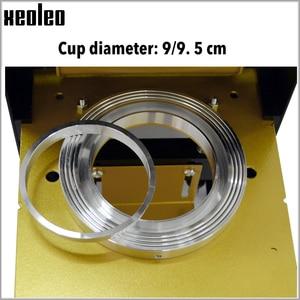 Image 4 - XEOLEO Tasse dicht maschine Manuelle Tasse sealer 9/9,5 cm Blase tee maschine für Kaffee/Saft/Milch tee Dichtung maschine Boba Tee Maschine