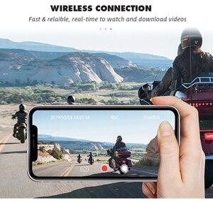 Image 5 - SYS VSYS M6L P6L WiFi אופנוע DVR מצלמת דאש Full HD 1080P + 720P קדמי אחורית עמיד למים אופנוע מצלמה שחור מקליט תיבה