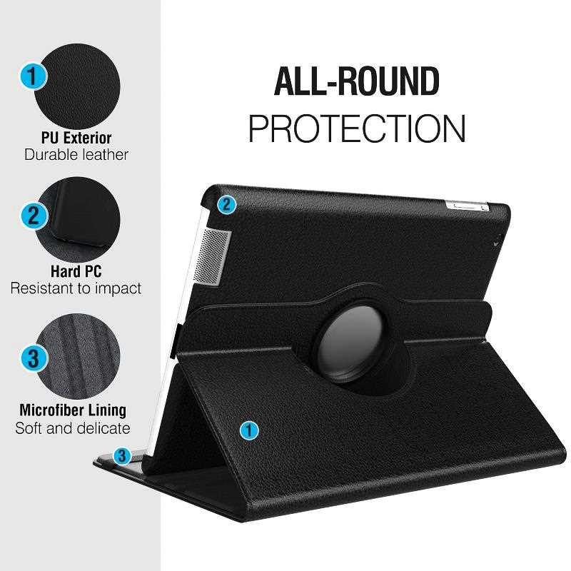 Mokoemi Fashion 360 Rotate Stand Case For Samsung Galaxy Tab S5e T720 T725 Tablet Case Cover-1