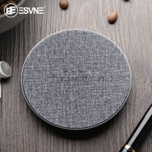 Esvne 5W Qi Wireless Charger untuk iPhone 11 Pro X XR XS Samsung Wireless Fast Charger untuk Huawei Xiaomi Nirkabel charger Telepon(China)