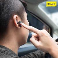 Baseus encok único fone de ouvido de metal baixo pesado qualidade som música fone de ouvido mini fone de ouvido bluetooth fone de ouvido sem fio