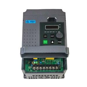 Image 4 - Variateur de fréquence VFD pour moteur triphasé 220 kw, 220V, entrée monophasée, variateur, entrée 220v, sortie 3 phases, vitesse réglable