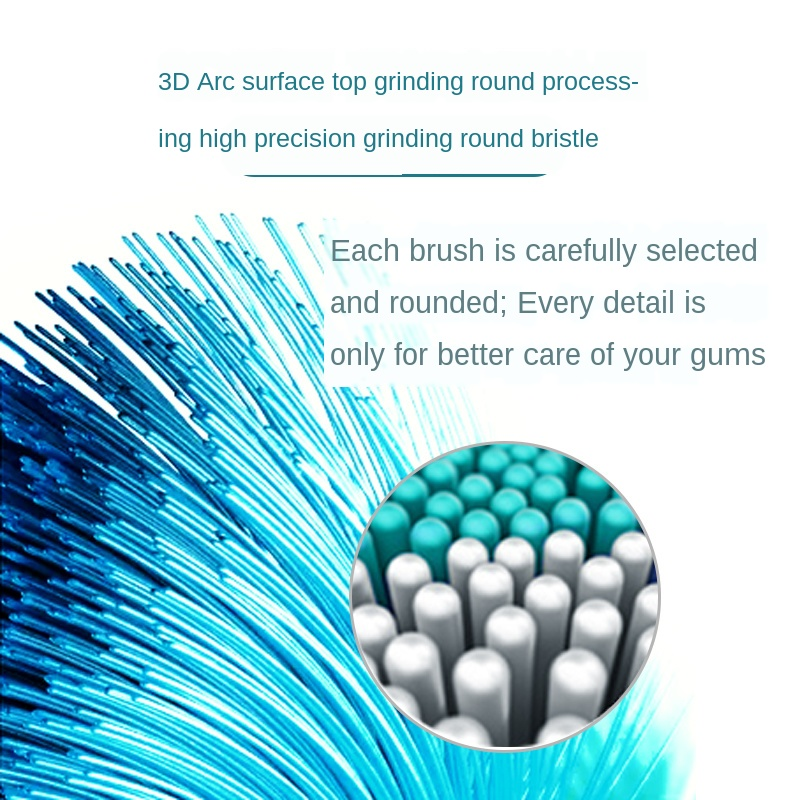 Sarmocare Toothbrushes Head for  S100 and S200 S600 S900 Ultrasonic Sonic Electric Toothbrush Fit Electric Toothbrushes Head 5