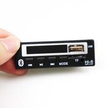 Bluetooth 5,0 MP3 decoder board MP3 Player MP3 Bluetooth WMA WAV Decoder modul audio zubehör mit FM radio 12V farbe Bildschirm