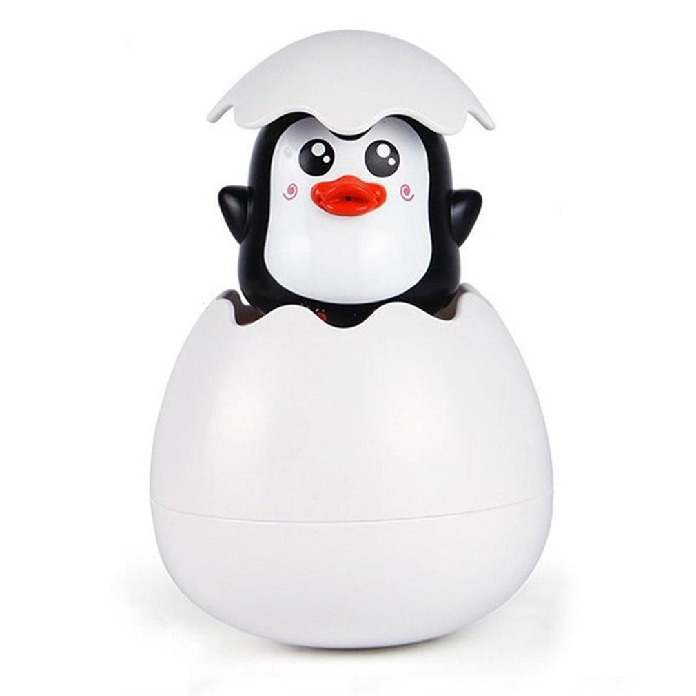Baby Shower Bath Toys For Children Early Educational Bathtub Bathroom Sprinkling Egg Floating Duck Penguin