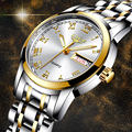 LIGE Топ Модные женские часы Роскошные Кварцевые часы из нержавеющей стали женские деловые часы Японский кварцевый механизм Relogio Feminino