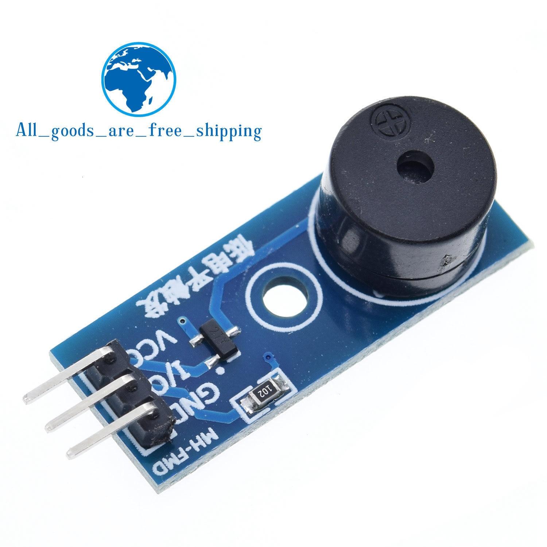 10pcs active Buzzer magnétique 5 V long avec signal sonore 12*9.5mm pour Arduino