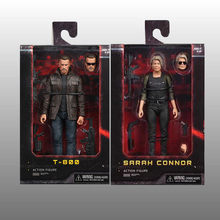 NECA Terminator T-800 Dark Fate Sarah Connor Action Figure Collectible Model Toy Gift neca the terminator 2 action figure t 800 endoskeleton classic figure toy 7 18cm