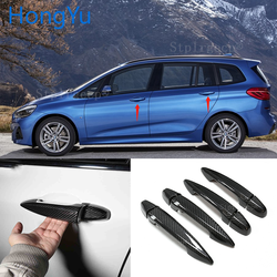 for BMW 2 series F45 218i 220i 218d Station wagon 2015 2016 2017 2018 2019 100% real carbon fiber Auto outer door handle cover