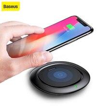 Baseus QI Беспроводное зарядное устройство для iPhone X 8 Samsung Galaxy S9 S8, мобильный телефон, настольное зарядное устройство, быстрая зарядка